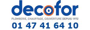 Decofor Garches - Dépannage Plomberie, Chaudière, Chauffage - 75 78 92